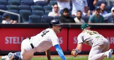 """【MLB】「猫だ」「魔法使いだ!」 暴走を好走塁に変えた""""野手との攻防""""に「笑い死ぬ」"""