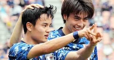 久保建英の東京五輪代表入りで蘇る、天才・小野伸二のフランスW杯での股抜きプレー