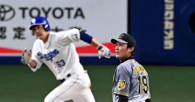 阪神が痛恨の敗戦 藤浪が押し出し含む4失点 積極走塁が裏目に出る場面も