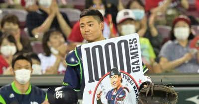 ヤクルト・中村悠平が1000試合出場「1日1日の積み重ね」捕手での出場に強い思い
