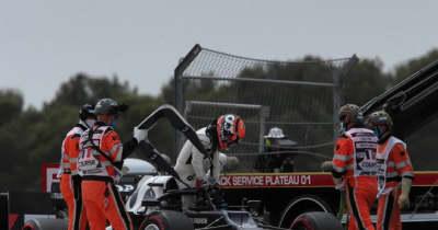 F1 Topic:ブレーキングで後れを取っていた角田。Q1で修正を試みるも「1周目にやるべきではなかった」