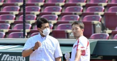 侍ジャパン・稲葉監督、鈴木誠「心配していない」 ワクチン接種の副反応で登録抹消も