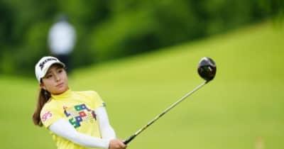 """父はシニアプロ、ゴルフ四姉妹の末っ子 橋添穂が21歳バースデーに""""合格圏""""浮上「いい日にしたいと思ってた」"""