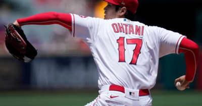 【MLB】大谷翔平、雄叫び力投も4勝目&日米通算50勝ならず 6回9K1失点、打撃は3の0
