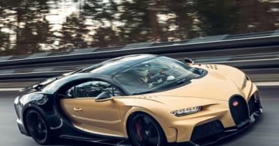 ブガッティ シロン「スーパースポーツ」、440kmhの最高速テスト開始…目標は世界最速の量産車