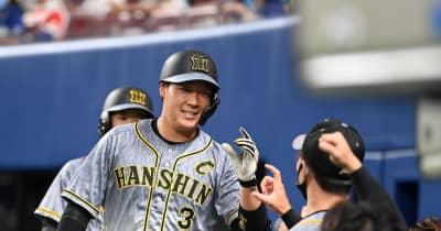 阪神・大山が2安打2打点 矢野監督は復調を期待「悔しい思いをしていた」