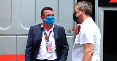 【あなたは何しに?】フランスGPを率いる元マクラーレンF1のブーリエ。ホンダのタイトル獲得を願う