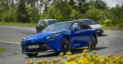 トヨタ MIRAI 新型を「KINTO」に導入、燃料電池技術普及へ…欧州