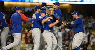 【MLB】カブスが史上15度目の継投ノーヒットノーラン達成 シーズン7度は近代野球で最多タイに