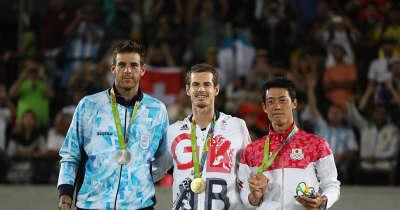 「東京オリンピック」にジョコビッチとマレー出場、デル ポトロは欠場へ