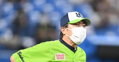 ヤクルト高津監督、石川の2被弾は「避けたいなというところ」連勝ストップ3位転落