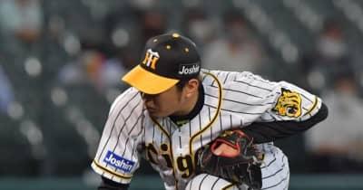 阪神・西勇輝 8回3失点、自責1も4敗目 通算100勝はお預け
