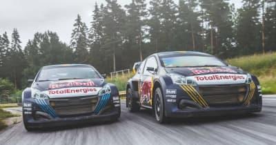 WorldRX参戦のハンセン兄弟、2021年仕様『プジョー208WRX』を披露。「最初から勝ちを狙う」