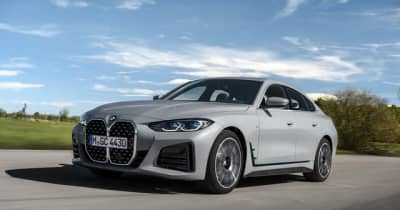 BMW 新型4シリーズグランクーペ発売、縦型キドニーグリルが存在感を主張…価格は620万円より