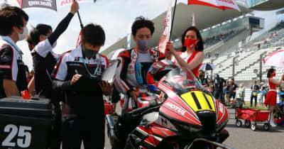 亀井雄大、レース1での転倒で右足を骨折。レース2は欠場/全日本ロード第5戦MFJ-GP鈴鹿