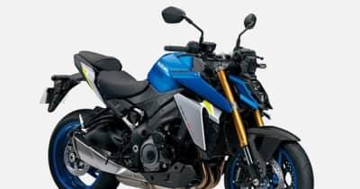 スズキ GSX-S1000 新型、8月4日発売決定---価格は143万円