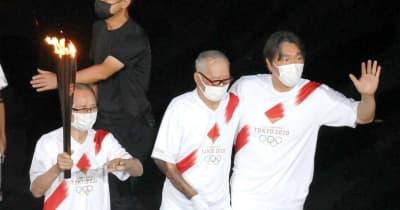歩くことにこだわった長嶋氏 松井氏に支えられ 式典統括の日置氏も感動「心打たれた」