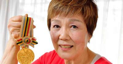 東洋の魔女・神田好子さん 57年ぶり東京に聖火 すごく幸せな開会式だった