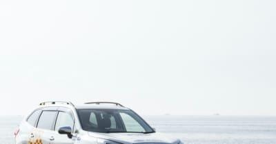 スバル・ライフセーバーカーが走る…日本ライフセービング協会に車両を提供