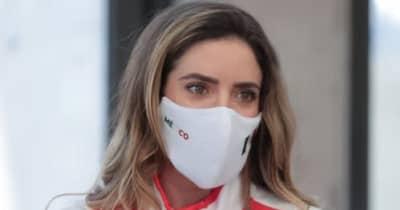 人気女子プロのガビー・ロペスが五輪開会式に参加 メキシコ選手団の旗手を務める
