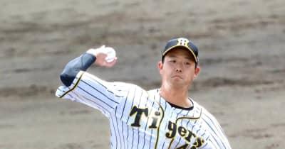 阪神・斎藤 猛アピ2回0封 最速154キロ直球×高速フォーク「精度上げたい」