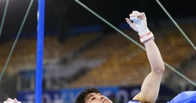 内村航平の東京五輪が終わる 鉄棒でまさかの落下、予選落ち 離れ技の後のひねりで