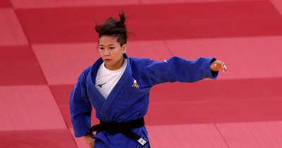 女子48キロ級 渡名喜風南が銀メダル 悲願の金には一歩届かず【五輪柔道】