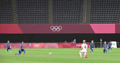 日本も人種差別に抗議の膝つき 熊谷「英国選手のアクションに対するリスペクト」