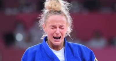 美人柔道家ビロディド 銅メダル獲得で悔し涙「金メダルだけを夢見ていた」