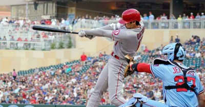 【MLB】「休養は役に立った」 大谷翔平の183キロ弾丸二塁打、地元記者はマドン采配を称える