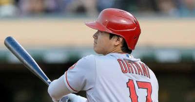【MLB】大谷翔平、第1打席で183キロ右中間二塁打→先制生還 2戦ぶり先発で3試合ぶり安打