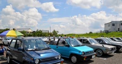 高校生のSNSで集まった旧車イベントが盛況…新潟県三条市の「古き良き5ナンバーミーティング」