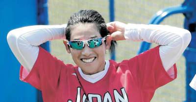 上野由岐子、剛速球でバットへし折り「また折れちゃった」決勝進出で銀以上確定