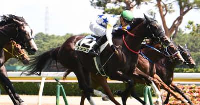 【POG】ファンデルが力強く差し切る 中井「難しい馬だけどポテンシャル高い」