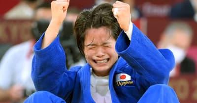 阿部詩、涙の金「初めてこんな感覚が舞い降りてきた」日本史上初!兄妹同日の快挙