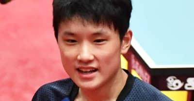 張本智和、試合日程が前日深夜に変更、苦難の五輪デビュー戦