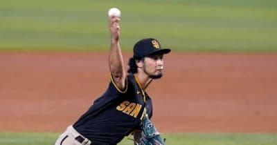"""【MLB】ダルビッシュは「フリスビーを投げている」 """"魔法""""のような変化球が「現実離れ」"""