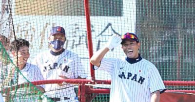 侍・稲葉監督 やはりスピード&パワー ソフト見て再認識「国際大会で本塁打は大事」