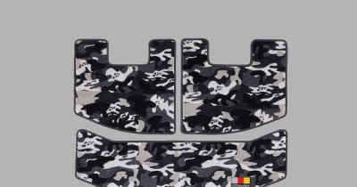 無限、カモフラージュカラーのスポーツマット発売…ヴェゼルフィットN-ONEN-BOX用