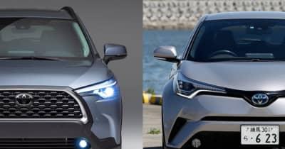 【人気コンパクトSUV内外装比較】まもなく登場のトヨタ 新型カローラクロスとC-HRは実はサイズが近かった!