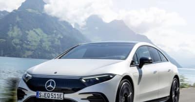 メルセデスベンツ EQS に「AMGライン」、EVセダンにもスポーティ仕様…年内欧州発売へ