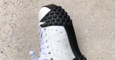 バイク乗りのスニーカー左足がボロボロになる件、リペア&カスタムで解決