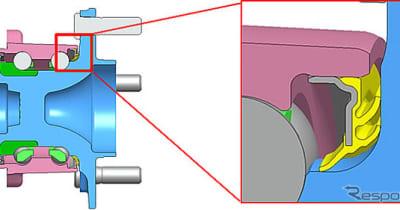 ジェイテクト、低トルク・耐寒冷ロバスト向上ハブユニットを開発