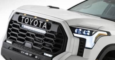 ハイラックスよりもデカい、トヨタ 新型タンドラ! TRDモデルは刺繍入りシートなど特別感満載の一台となる