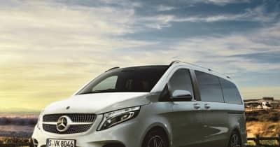 メルセデスベンツ Vクラス 一部改良…安全運転支援システムを強化 価格は791万円から