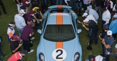 ポルシェ 911ターボ にワンオフ…ペドロ・ロドリゲスに敬意、オークション出品へ