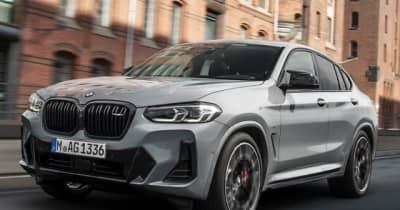 BMW X4 に改良新型、表情変化…IAAモビリティ2021に展示へ