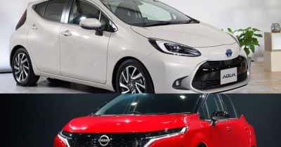 トヨタ 新型アクアと日産 新型ノートe-POWER、燃費はどう違う!? 断トツの低燃費は背が低くて軽いアクアに軍配
