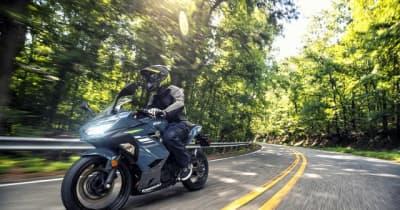 カワサキ Ninja 250400、2022年モデルを発表…カラー&グラフィックを変更