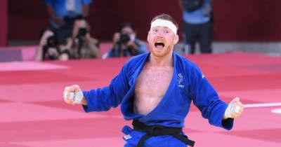 日本は無念の銀メダル 難敵フランスに敗れて金メダル逃す 新種目の柔道混合団体